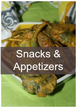 Learn to make snacks and starters recipes