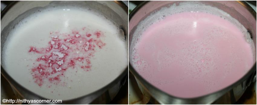 Rose Milk Popsicle Recipe