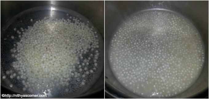 How to make javvarisi payasam