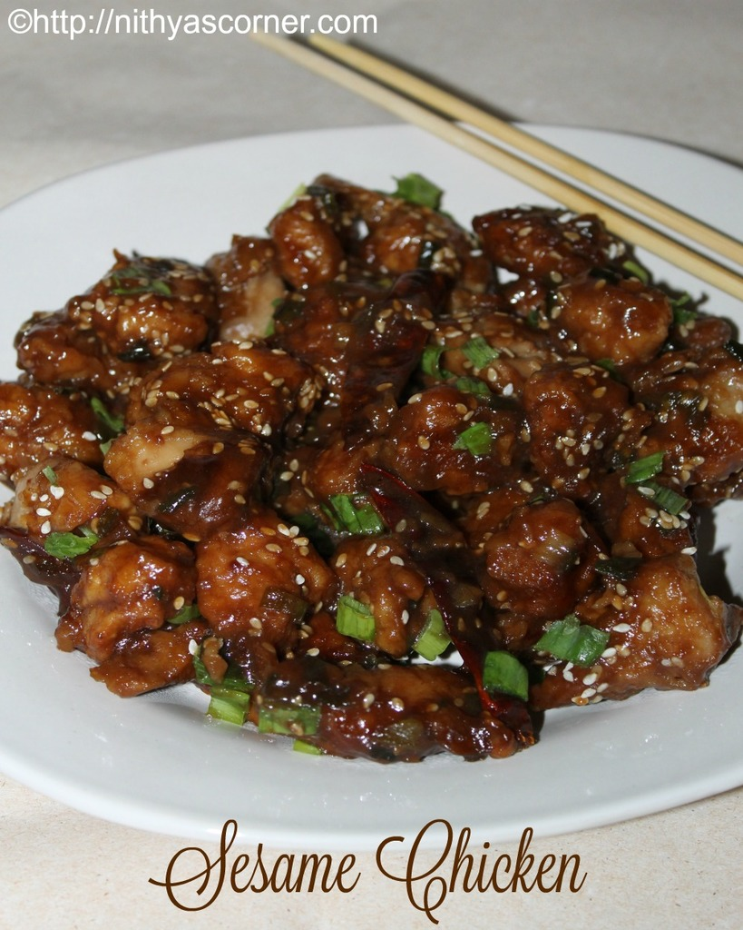 Honey Sesame Chicken Recipe