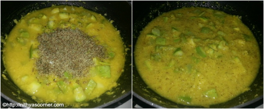 Sorakkai kootu recipe, bottle gourd with moong dal