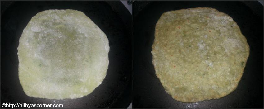 Spinach Paratha Recipe,Palak Paratha
