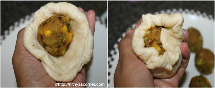 masala buns recipe with stepwise pictures