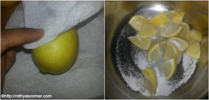 Sweet Spicy Lemon Pickle