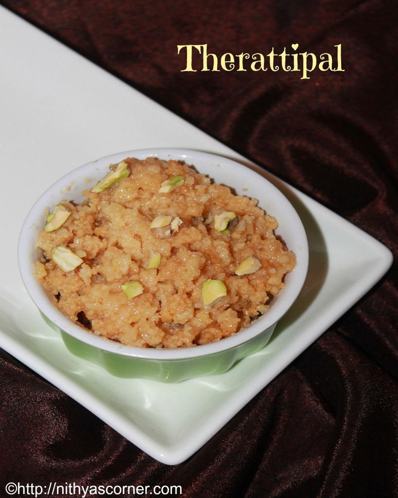 Microwave therattipal recipe, microwave palkova in 10 minutes