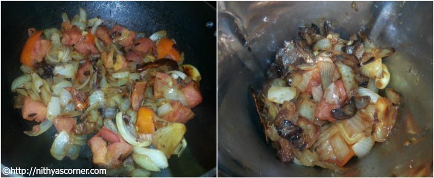 Tomato Chutney Recipe, Onion Tomato Chutney