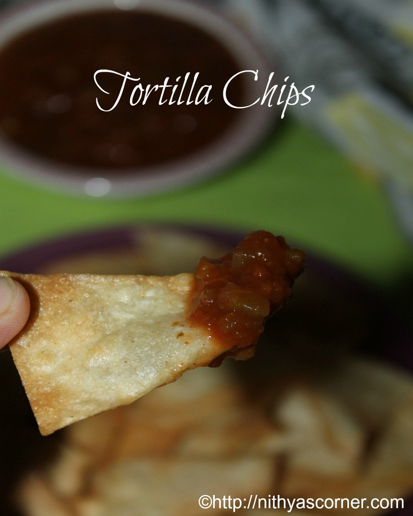 tortilla chips recipe from scratch