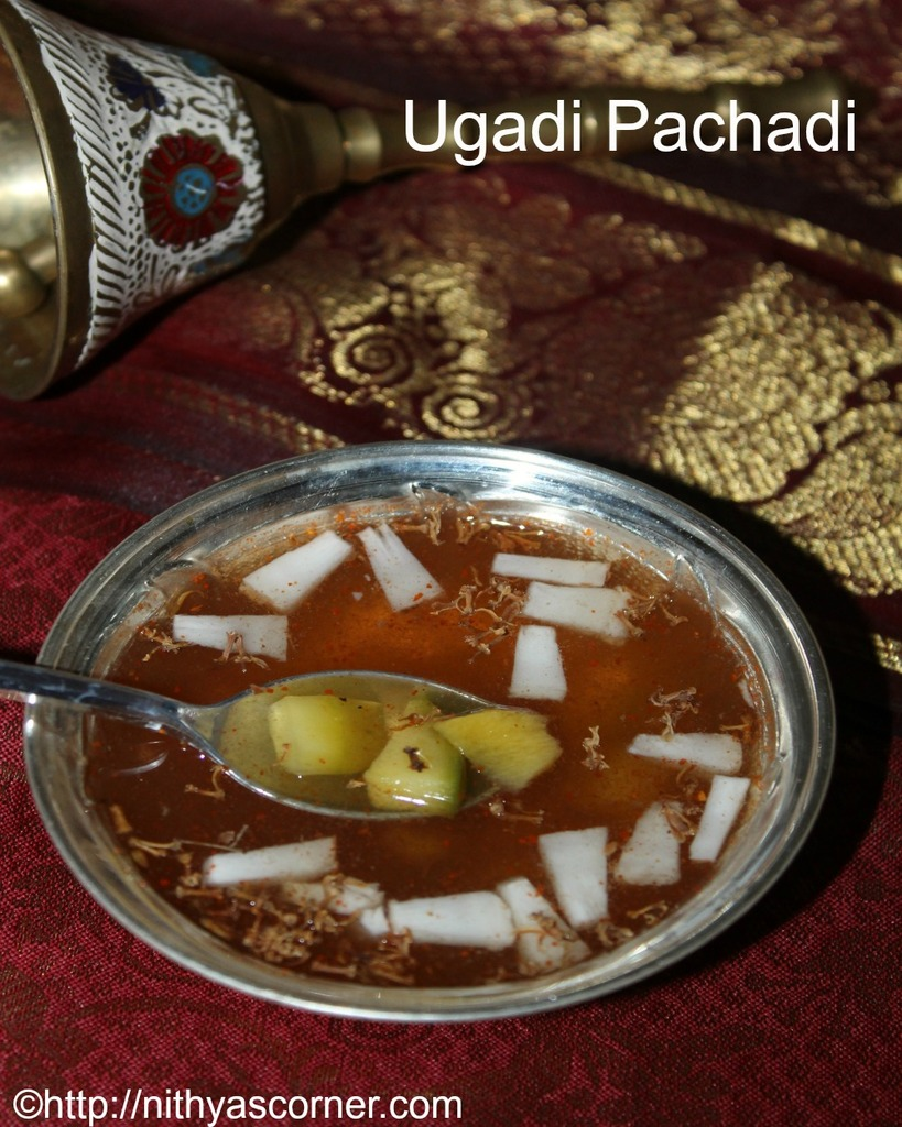 Ugadi pachadi is one of the most important dish that is prepared on the day of ugadi