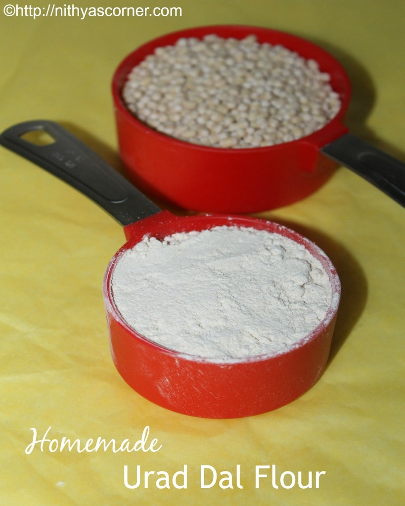 How to make urad dal flour at home