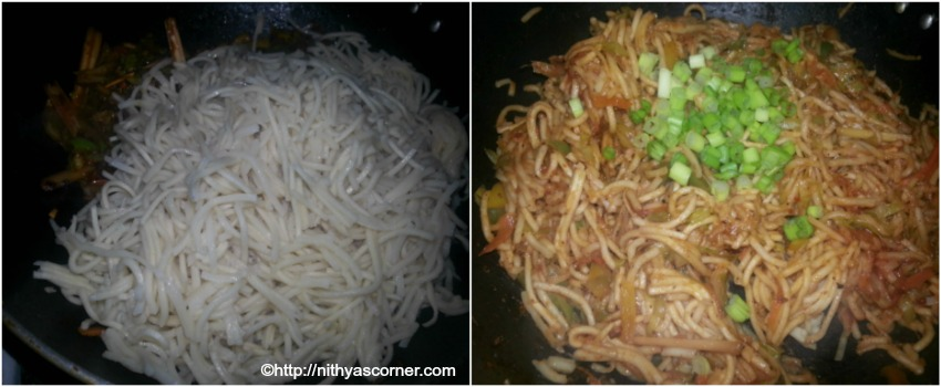 simple and easy vegetable noodles