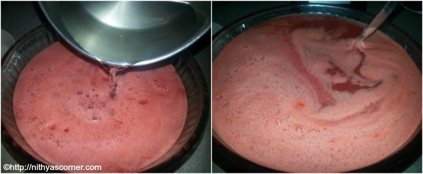 Watermelon sorbet recipe, 5 minutes watermelon sorbet