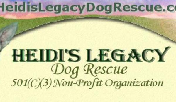 Heidi's Legacy Dog Rescue's Gratitude