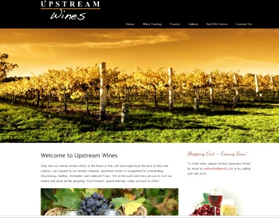 vineyard websites