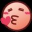 beso de corazón