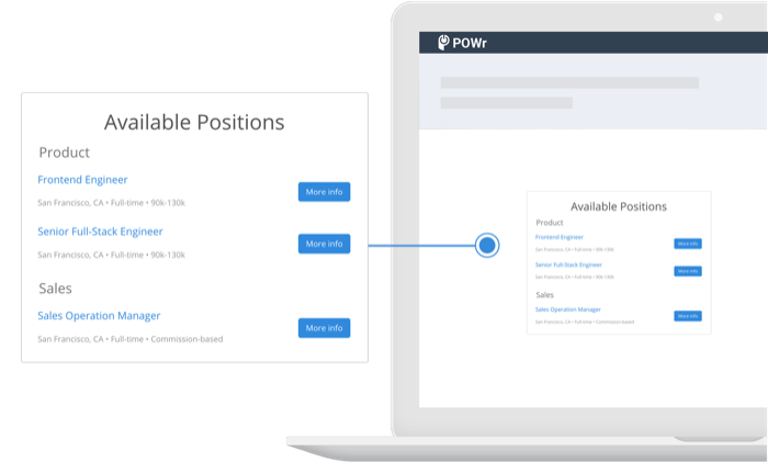 Add Job Postings to BigCommerce