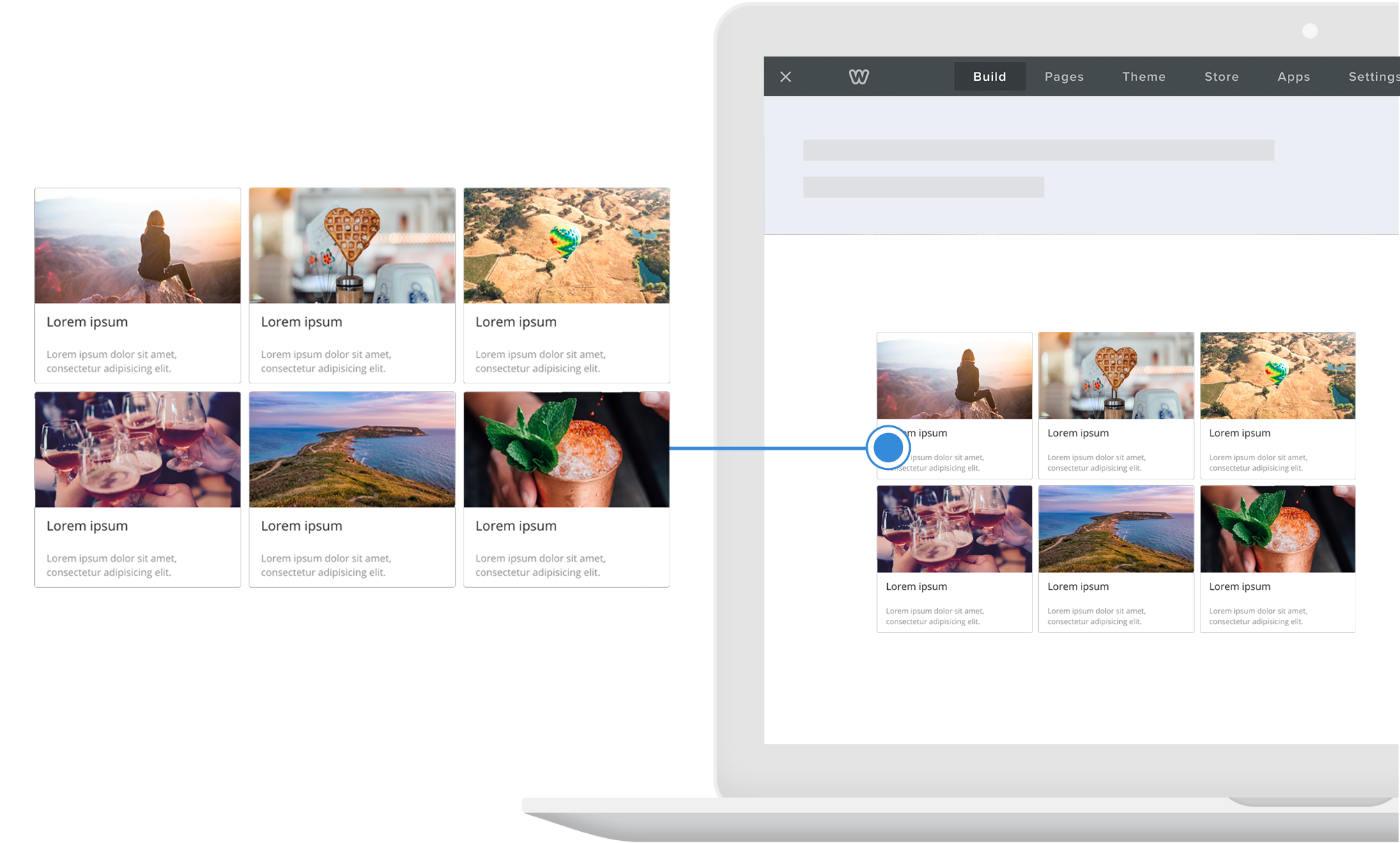Add Event Gallery to Squarespace