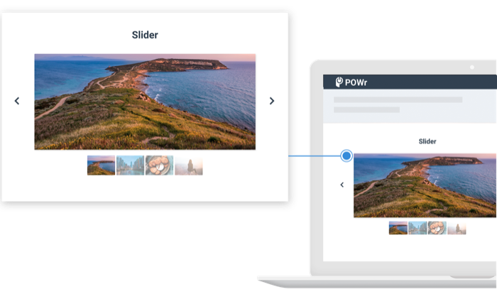 Add Event Slider to HTML