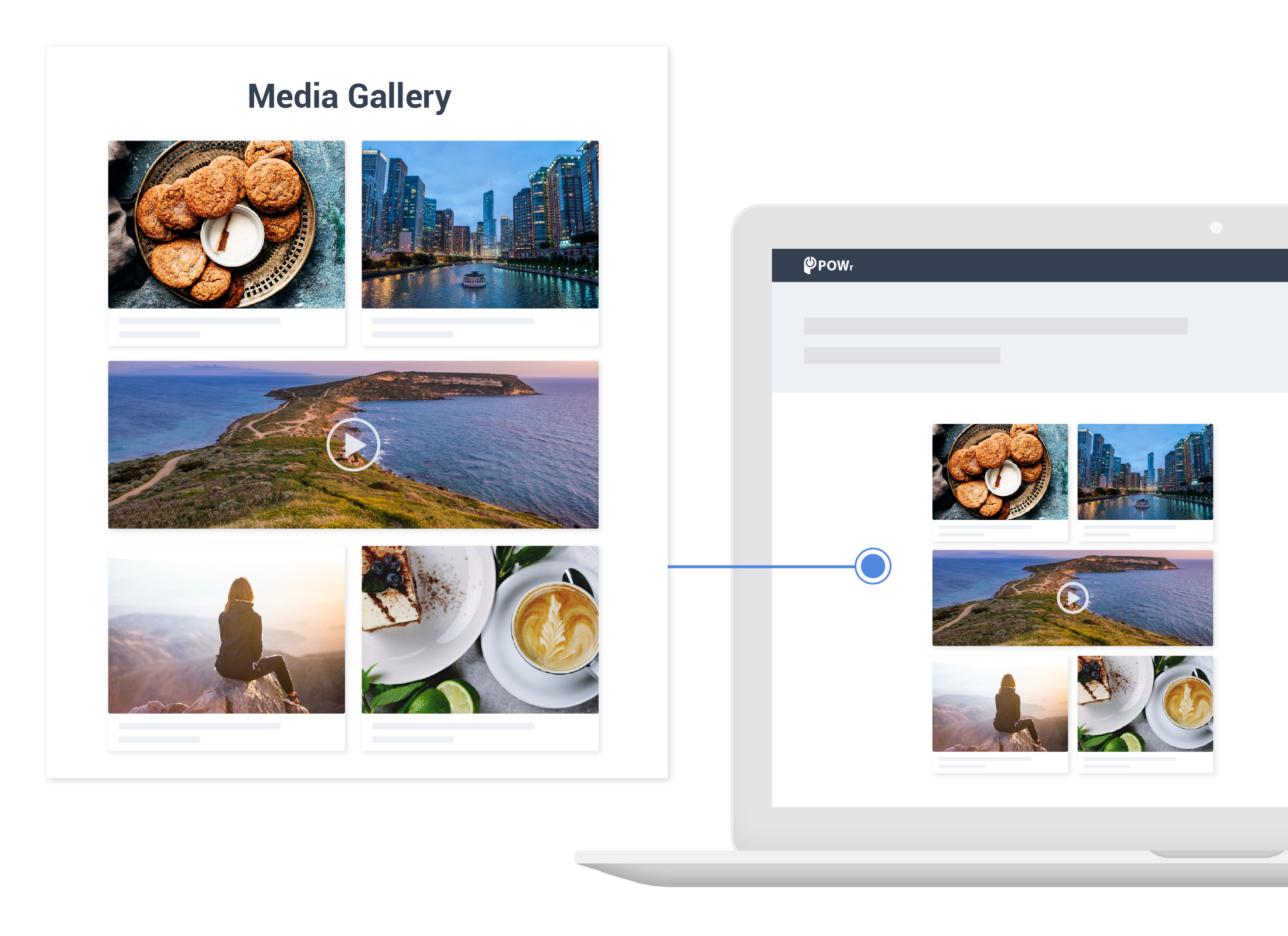 Add Vimeo Gallery to Bookmark
