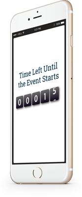 Mobile countdown timer