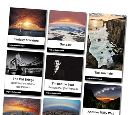 Flickr Gallery App