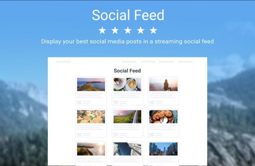 Embed a Social Feed Website Plugin & Add-on - POWr io