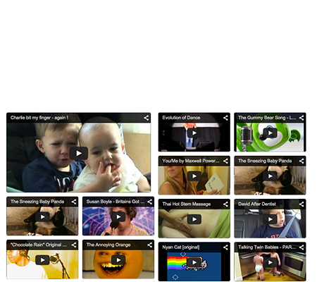 Video Gallery Widget