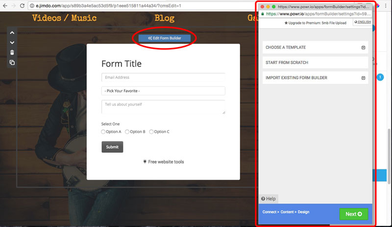 Membership Form Plugin
