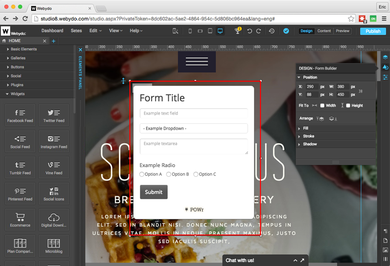 Form Builder Plugin
