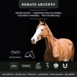 3er Remate Argento