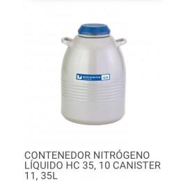 Lote 16: Contenedor Nitrógeno Liquido HC 35