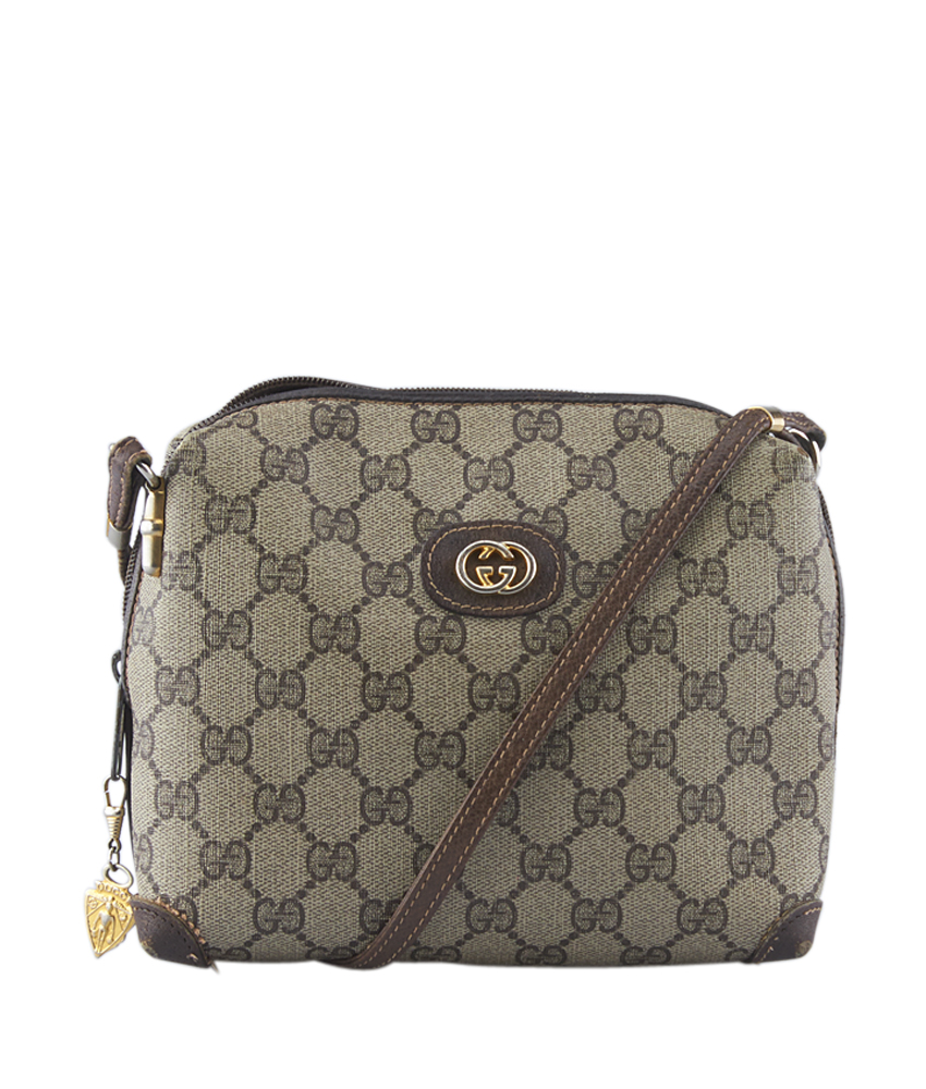 b37c59782 Gucci Vintage Supreme Canvas Shoulder Bag | Stanford Center for ...