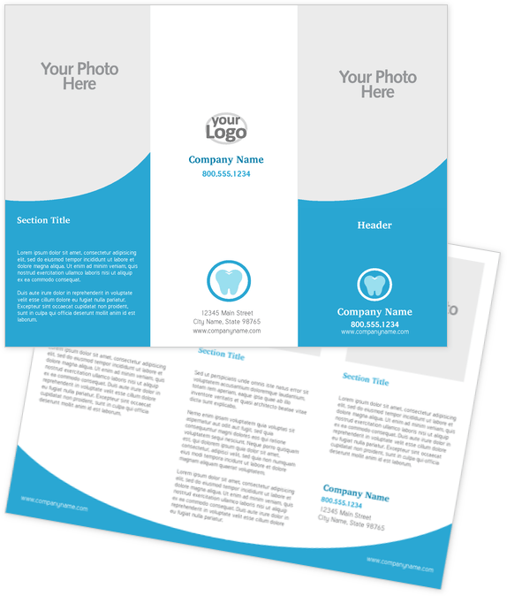 Health Care Brochure Design Template