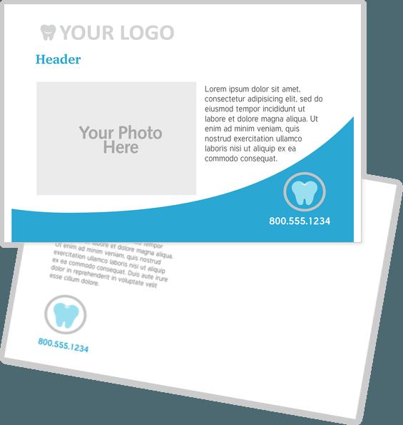 Healthcare Postcard Design Templates