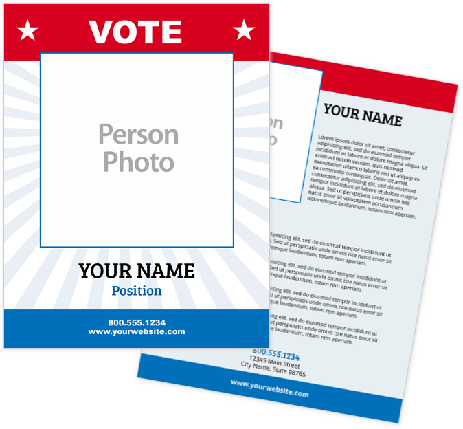 Political Flyers Print Templates