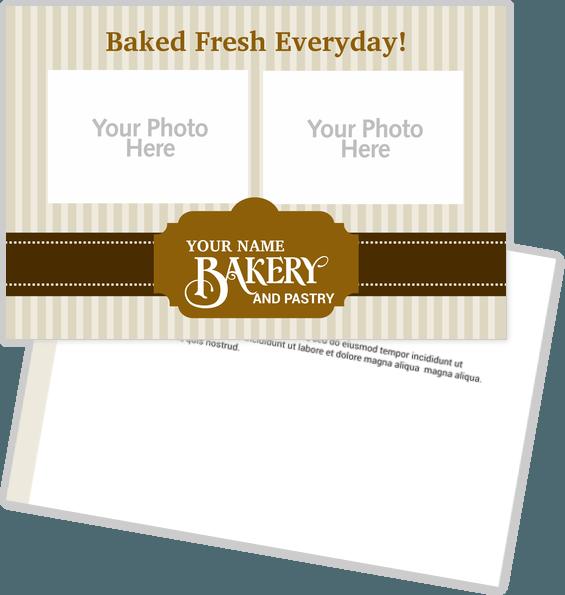 Food & Beverages Postcards