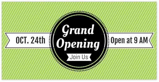Grand Opening Hours