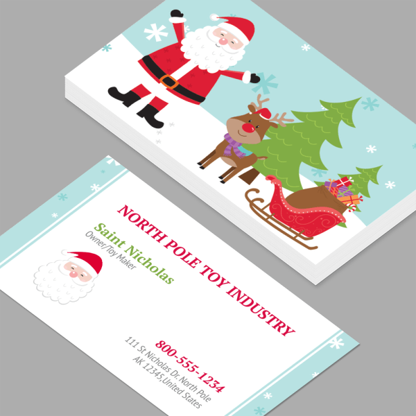 Holiday Business Cards