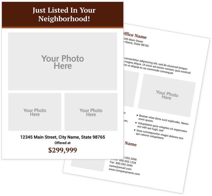 Real Estate Flyers Print Templates