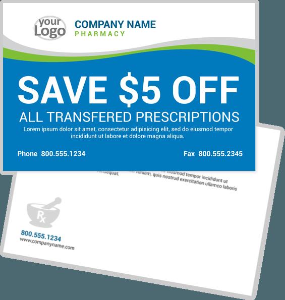 Health Care Postcard Design Template