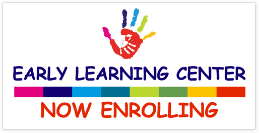 indoor banner for learning centers