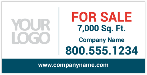 for lease banner template