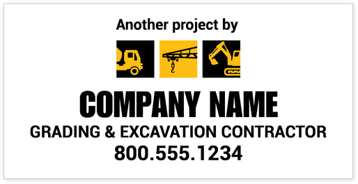Construction & Trade Banner Design Template