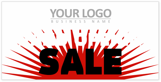 Opening Sales Promo Banner Template