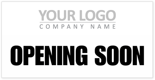 Store Opening Banner Template