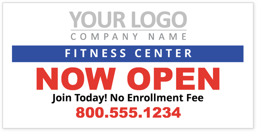 Gym and Fitness Center Design Template