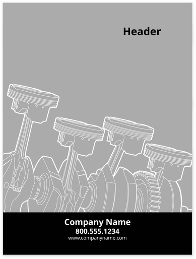 Automotive Posters Design Template
