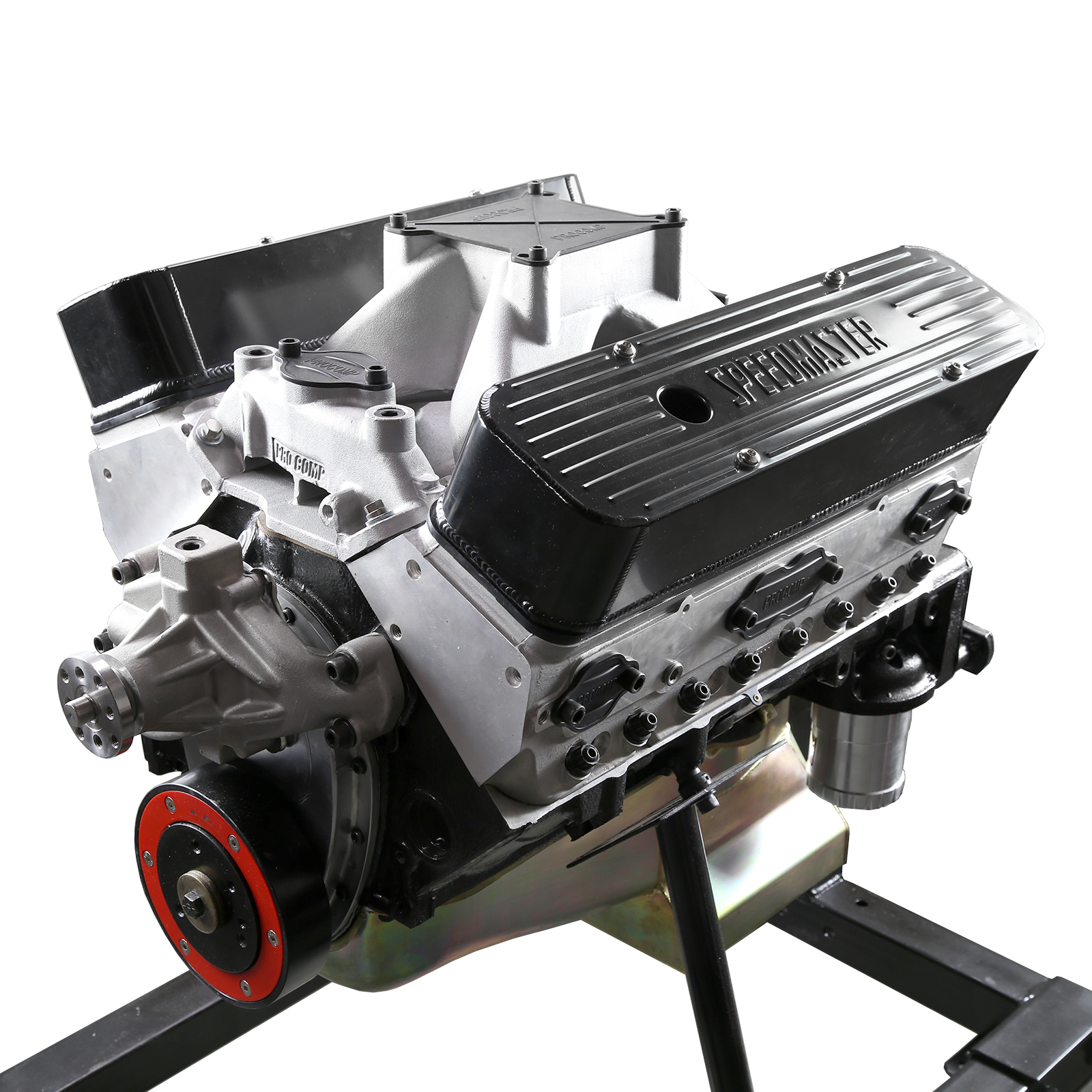 Chevy SBC 383 500Hp Forged Arsenal Cnc Aluminum Head Hyd. Roller Crate Engine