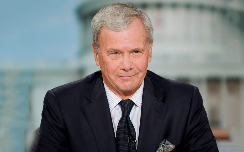 Leader in Front: Tom Brokaw