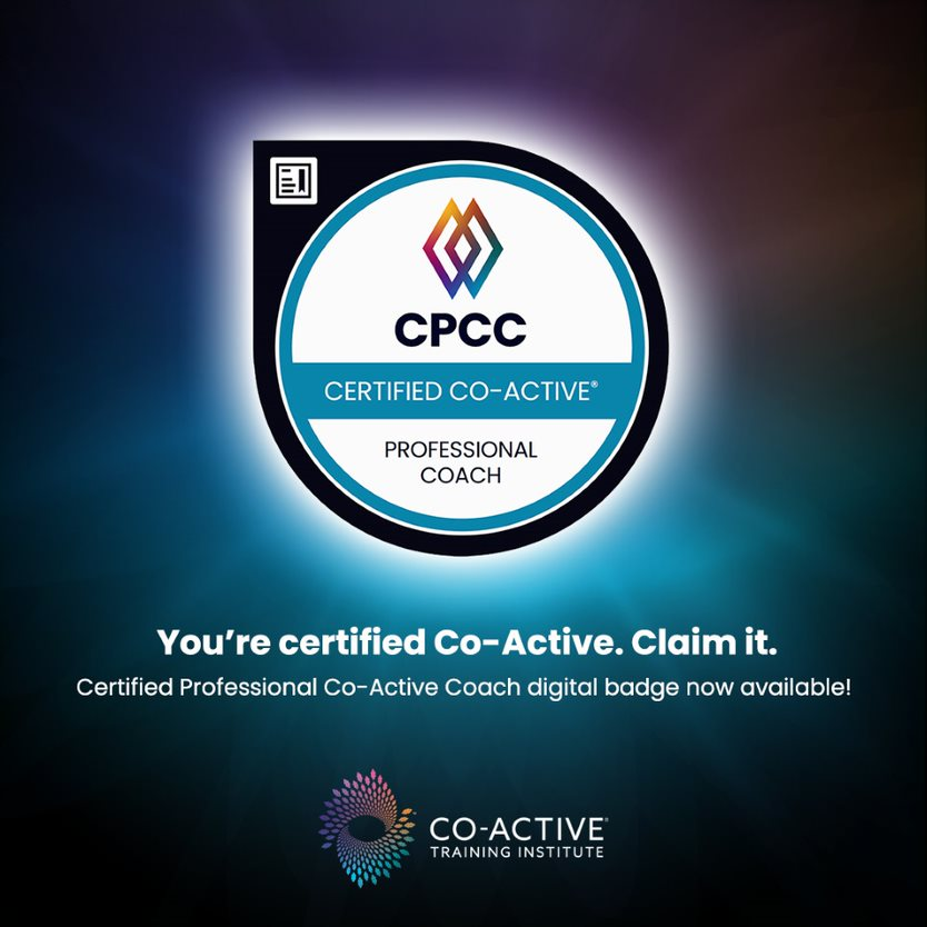 Certified Professional Co-Active Coach (CPCC) Badge