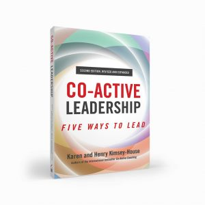 Image: Co-Active Leadership Book